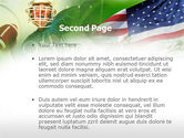 American National Sports PowerPoint Template#2