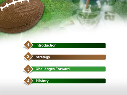 American National Football League PowerPoint Template Slide 3