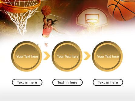Womens Basketball PowerPoint Template Backgrounds – Basketball Powerpoint Template