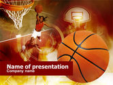 Sports: Women's Basketball PowerPoint Template #00508