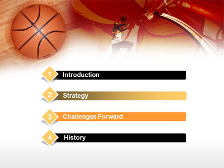 Dunking PowerPoint Template Slide 3