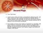 Dunking PowerPoint Template#2