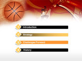 Dunking PowerPoint Template#3
