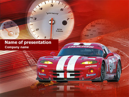Speed Racer PowerPoint Template