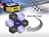 Racing Car PowerPoint Template#11