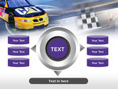 Racing Car PowerPoint Template#12