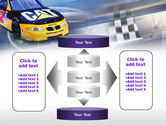 Racing Car PowerPoint Template#13