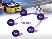 Racing Car PowerPoint Template#14