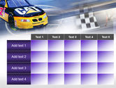 Racing Car PowerPoint Template#15