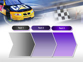 Racing Car PowerPoint Template#16