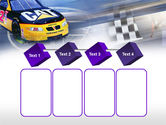 Racing Car PowerPoint Template#18