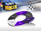 Racing Car PowerPoint Template#19