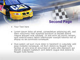 Racing Car PowerPoint Template#2