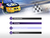 Racing Car PowerPoint Template#3