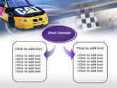 Racing Car PowerPoint Template#4