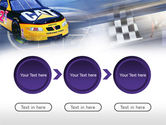 Racing Car PowerPoint Template#5