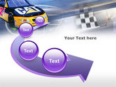 Racing Car PowerPoint Template#6