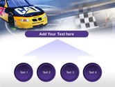 Racing Car PowerPoint Template#8