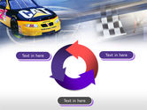 Racing Car PowerPoint Template#9