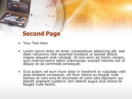 Business Case PowerPoint Template, Slide 2, 00513, Business — PoweredTemplate.com