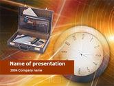 Business: Plantilla de PowerPoint - caso de negocios #00513