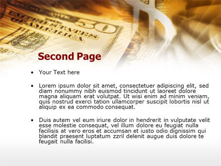Dollar Investment PowerPoint Template, Slide 2, 00516, Financial/Accounting — PoweredTemplate.com