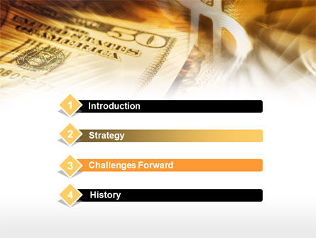 Dollar Investment PowerPoint Template, Slide 3, 00516, Financial/Accounting — PoweredTemplate.com