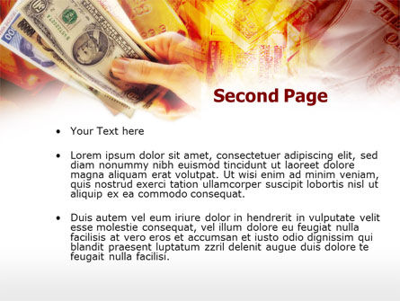 Gold Investment PowerPoint Template, Slide 2, 00517, Financial/Accounting — PoweredTemplate.com