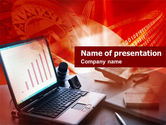 Technology and Science: Accounting Computer PowerPoint Template #00520