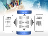 Crayons in Hands PowerPoint Template#13