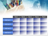 Crayons in Hands PowerPoint Template#15