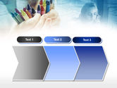 Crayons in Hands PowerPoint Template#16