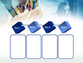 Crayons in Hands PowerPoint Template#18