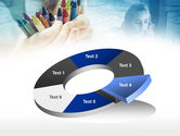 Crayons in Hands PowerPoint Template#19