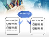 Crayons in Hands PowerPoint Template#4