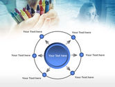 Crayons in Hands PowerPoint Template#7