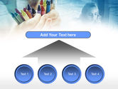 Crayons in Hands PowerPoint Template#8