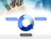 Crayons in Hands PowerPoint Template#9