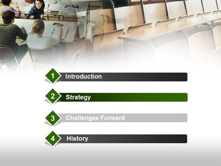 Students PowerPoint Template, Slide 3, 00526, Education & Training — PoweredTemplate.com