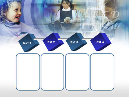 Little Pupils From Primary School PowerPoint Template Slide 18