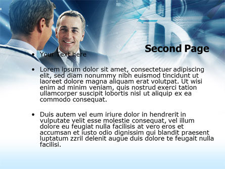 Financial Consultant PowerPoint Template, Slide 2, 00532, Financial/Accounting — PoweredTemplate.com