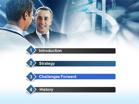 Financial Consultant PowerPoint Template, Slide 3, 00532, Financial/Accounting — PoweredTemplate.com