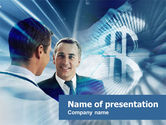 Financial/Accounting: Financial Consultant PowerPoint Template #00532
