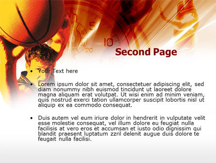 Basketball Drill PowerPoint Template, Slide 2, 00533, Sports — PoweredTemplate.com