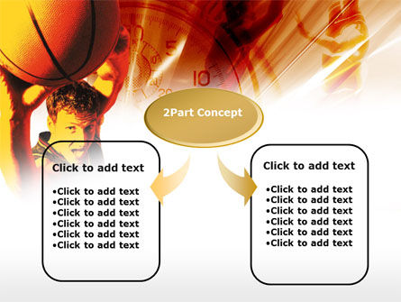 Basketball Drill PowerPoint Template Slide 4