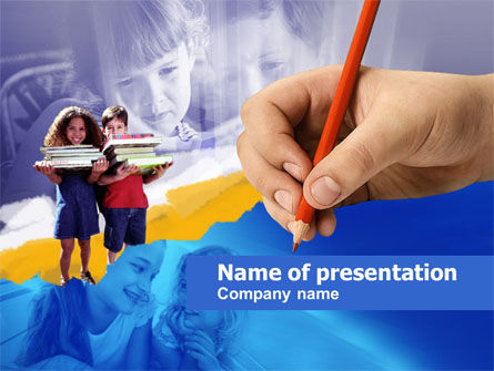 Education & Training: Children's Education PowerPoint Template #00534