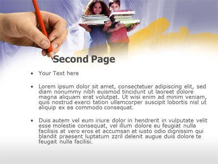 Children's Education PowerPoint Template, Slide 2, 00534, Education & Training — PoweredTemplate.com