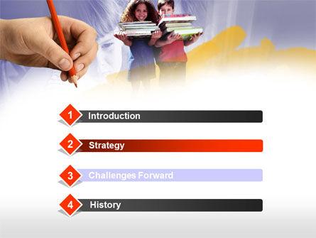 Children's Education PowerPoint Template, Slide 3, 00534, Education & Training — PoweredTemplate.com