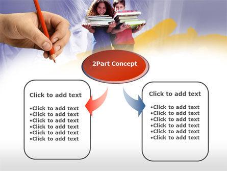Children's Education PowerPoint Template, Slide 4, 00534, Education & Training — PoweredTemplate.com