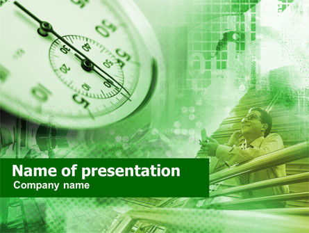 Business Timing Research PowerPoint Template